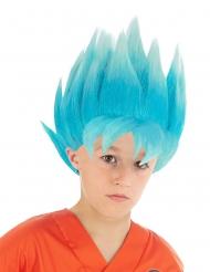 Parrucca blu Goku Saiyan Super Dragon ball Z™ bambino