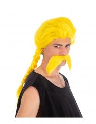 Parrucca e baffi Ordinalfabetix™ Asterix e Obelix™
