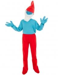Costume da Grande Puffo™ per bambino