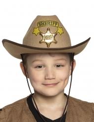 Cappello da sceriffo per bambini