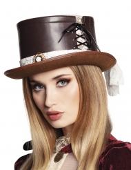 Cappello Steampunk deluxe con merletto