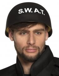 Casco S.W.A.T nero per adulto