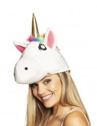 Cappello testa di unicorno per adulto