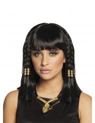 Parrucca corta da egiziana nera donna