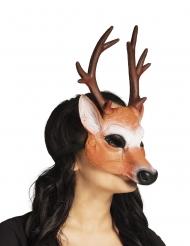 Mezza maschera da cerbiatto per adulto