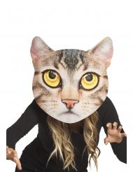 Maschera gigante da gatto per adulto