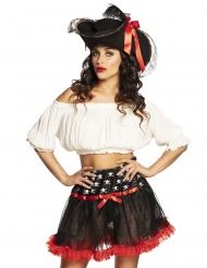 Sottoveste da pirata per donna