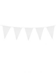 Ghirlanda di mini bandierine bianche