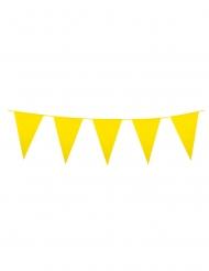 Ghirlanda di bandierine gialle triangolari
