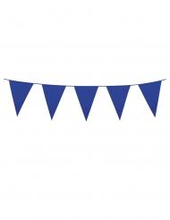 Ghirlanda con mini festoni blu 3 m