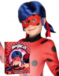 Cofanetto parrucca e maschera di Ladybug™ per bambina