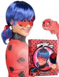 Cofanetto parrucca e maschera di Ladybug™ per adulto