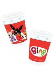 8 bicchieri in cartone Bing™ 266 ml