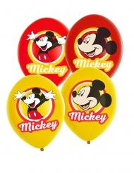 6 palloncini Topolino™ gialli e rossi