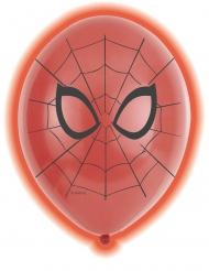 5 Palloncini in lattice led Spiderman™ 28 cm