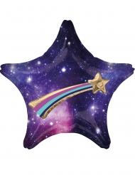 Palloncino alluminio stella e galassia 71 cm