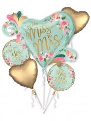 5 palloncini matrimonio Ha detto si