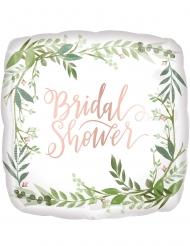 Palloncino alluminio quadrato bridal shower 43 cm