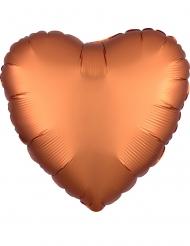 Palloncino alluminio cuore rame