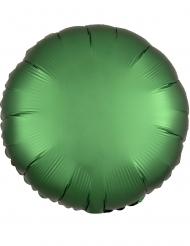 Palloncino alluminio rotondo verde smeraldo 43 cm