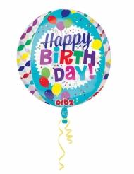 Palloncino trasparente Happy Birthday