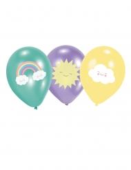 6 palloncini di lattice nuvoletta
