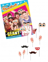 Kit photobooth Gigante 12 accessori