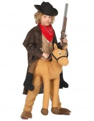 Costume Carry Me Cowboy a cavallo per bambino