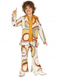 Costume disco con motivi geometrici per bambino