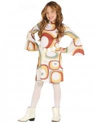 Costume disco a motivi geometrici per bambina