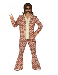 Costume disco a rombi per uomo