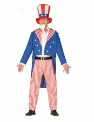 Costume da patriota americano per uomo