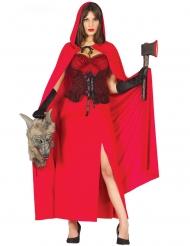 Costume da cacciatrice del lupo per donna
