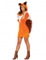 Costume vestito da volpe per donna