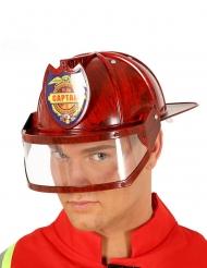 Casco da capitano dei pompieri per adulto