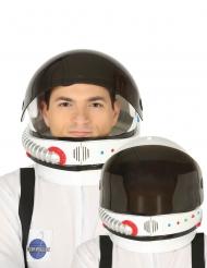 Casco da astronauta con visiera removibile per adulto