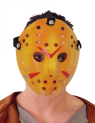 Maschera da hockey bianca serial killer adulto