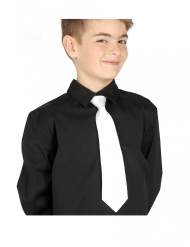 Cravatta bianca bambino