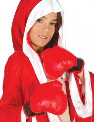 Guanti da boxe rossi per bambino
