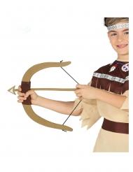 Arco da indiano con 3 frecce bambino