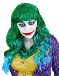 Parrucca verde da sociopatica donna