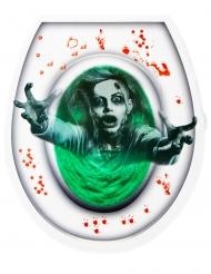 Adesivo per WC zombie
