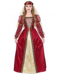 Costume principessa medievale reale bambina