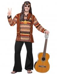 Costume hippie della natura per uomo