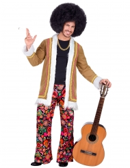 Costume hippie woodstock uomo