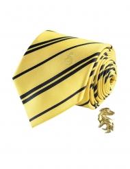 Replica cravatta con spilla Tassorosso™ Harry Potter™