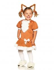 Costume da simpatica volpe per bambina