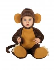 Costume da tenera scimmietta per neonato