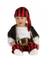 Costume da capitano dei pirati per neonato