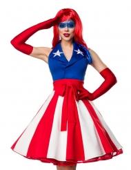 Costume Miss sexy America per donna